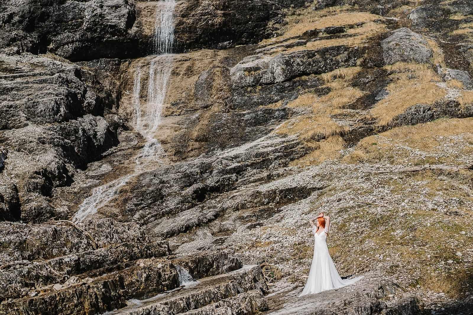 Bridalshoot Wasserfall