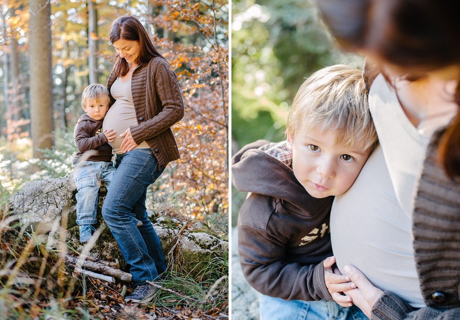 Kuscheln mit Babybauch